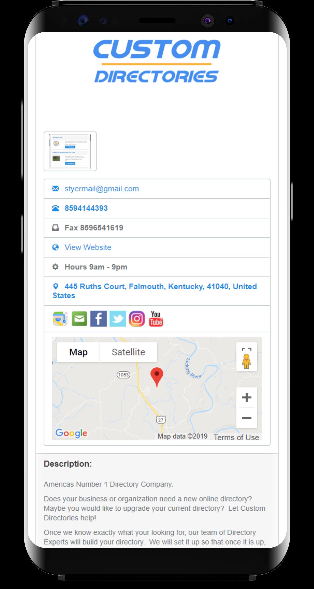 listing custom directories